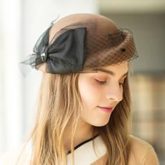 Dames Élégante/Exquis/Style Vintage Coton avec Bowknot Béret Chapeau