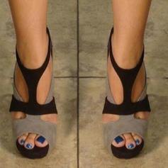 Vrouwen PU Stiletto Heel Sandalen Pumps met Rits schoenen