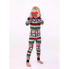 Dessin Animé Inmprimé Tenue Familiale Assortie Pyjama De Noël