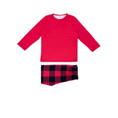 Ours Plaid Striped Tenue Familiale Assortie Pyjama De Noël
