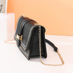 Fashionable/Solid Color Satchel/Crossbody Bags