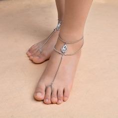 Strass Fot Smycken (Säljs i ett enda stycke)