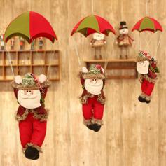 Boże Narodzenie Święty Lalka Tkanina Dekoracje świąteczne