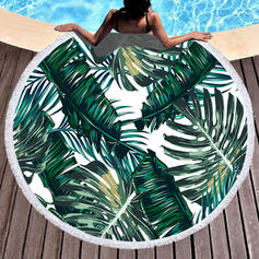 Country Style round Beach Towel