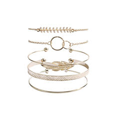 Unique Exquisite Stylish Alloy Jewelry Sets Bracelets Beach Jewelry (Set of 5 pairs)