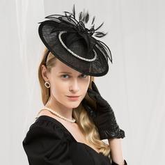 Ladies ' Moda/Uroczy/Elegancki/Zdumiewający/Fantazyjny/Wysoka jakość Batyst Z Pióro Toczki