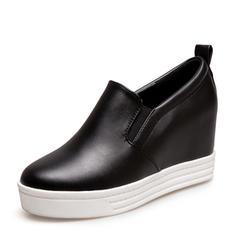 Femmes PU Talon compensé Compensée chaussures