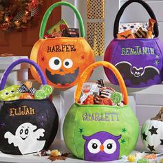 Partyforte Halloween Felt Candy Bag - Kürbis