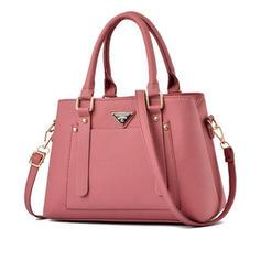 Commuting/Solid Color Satchel/Crossbody Bags/Shoulder Bags