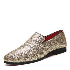 Casual Sparkling Glitter Men's Men's Loafers