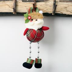 Hóember Rénszarvas Télapó Karácsony Függő Hosszú láb Szövet Baba Karácsonyi dekoráció