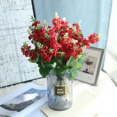 Tejido sintético Flores de seda