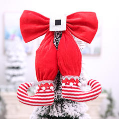 Merry Christmas Cloth Christmas Décor Christmas Tree Topper