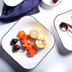 Modern Porcelain Dessert Plates