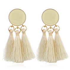 Exotic Alloy Braided Rope Women's Fashion Earrings (Sold in a single piece)