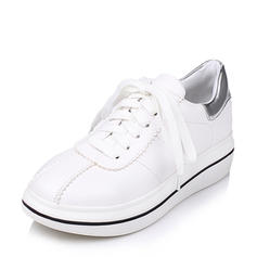 Női PU Alkalmi Szabadtéri -Val Lace-up cipő