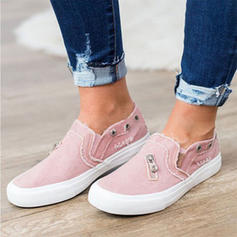 Women's Fabric Casual With Zipper shoes