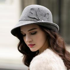 Ladies ' Przepiękny/Elegancki Wełna Bowler / Cloche Hat