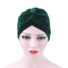 Dames Style Classique Velours Disquettes Chapeau