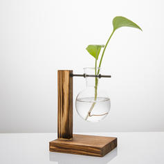 Modern Wood Table Vases