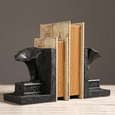 Vintage Resin Bookends