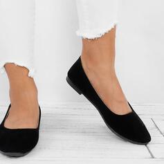Mulheres Lona Sem salto Sem salto Dedo pontudo sapatos