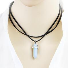 Einzigartig Stilvoll Legierung Schmuck Sets Halsketten