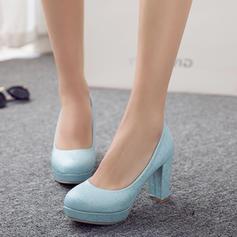 Női PU Chunky sarok Magassarkú Emelvény -Val Egyéb cipő