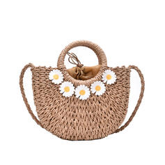 Elegant/Charming/Bohemian Style/Braided Tote Bags/Crossbody Bags/Shoulder Bags/Beach Bags