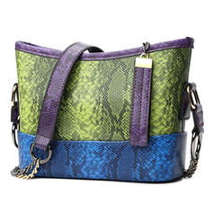 Splice Colour PU Borse a tracolla/Hobo Bags