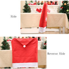 Merry Christmas Non-Woven Fabric Chair Cover