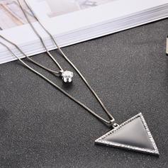 Unique Simple Alloy Women's Necklaces