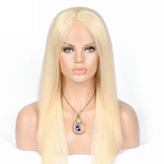 5A Virgin/remy Straight Human Hair Lace Front Wigs 80g