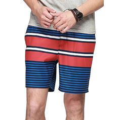 Pour des hommes Splice couleur Shorts de bain