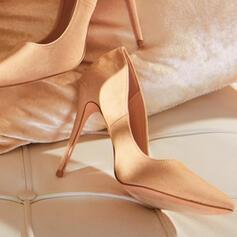Mulheres Microfibra Couro Salto agulha Bombas com Animal da Cópia sapatos