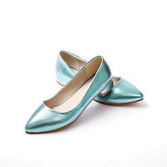 Women's Cloth Flat Heel Flats Closed Toe shoes