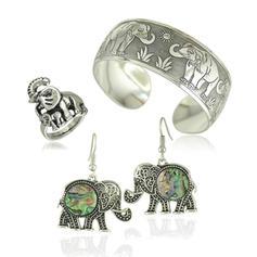 Fashionable Exotic Stylish Alloy Women's Jewelry Sets (Set of 3)