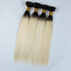 4A Rovný Lidský vlas Vlnité pravé vlasy (Prodává se jako jeden kus) 100g