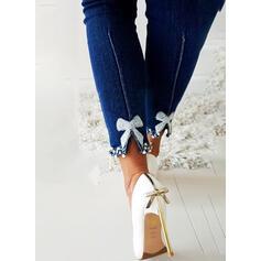 Print Sexy Long Skinny Denim Denim & Jeans