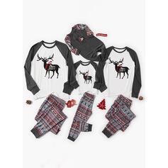 トナカイ 印刷 マッチングファミリー クリスマスパジャマ
