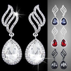 Exquisito Aleación Diamantes de imitación Señoras' Pendientes de la manera