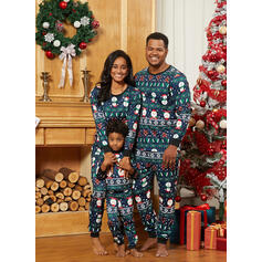 Santa Print Family Matching Christmas Pajamas