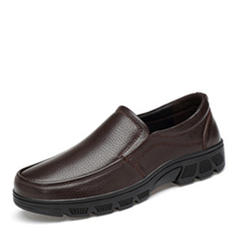 Men's Leatherette U-Tip Casual Men's Loafers
