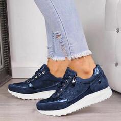 De mujer Cuero Casual al aire libre con Cordones zapatos