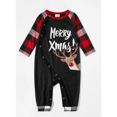 Ren Carouri Literă De Familie Pijamale De Crăciun
