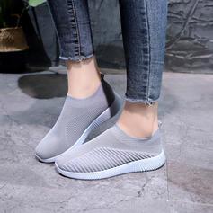 Жіночі Тканина Тканина Випадковий На відкритому повітрі з Еластичний бинт взуття
