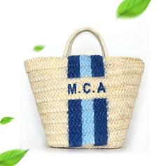 Personalized Style Straw Tote Bags/Beach Bags