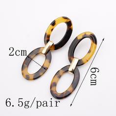 Stylish Alloy Acrylic Women's Fashion Earrings (Sold in a single piece)