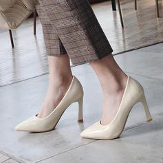 Naisten Kiiltonahka Piikkikorko Avokkaat Suljettu toe jossa Muut kengät
