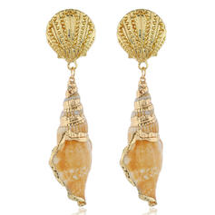 Stylish Shell Alloy With Shell Women's Earrings